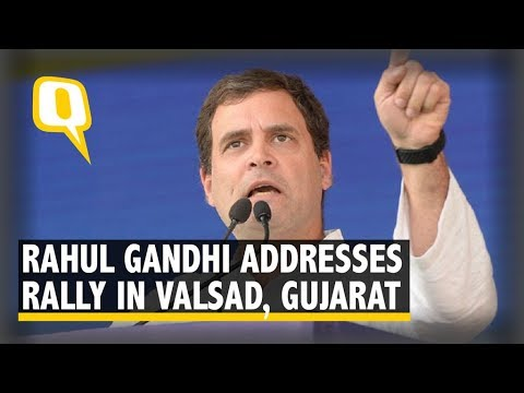 Rahul Gandhi Addresses Rally in Valsad, Gujarat Mp3