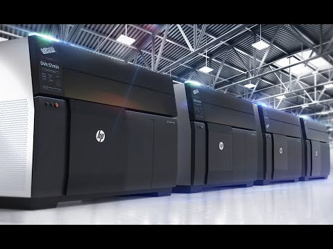 HP Metal Jet — 3D-печать металлических деталей