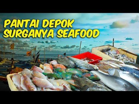 Pantai Depok Yogyakarta Surganya Pecinta Seafood