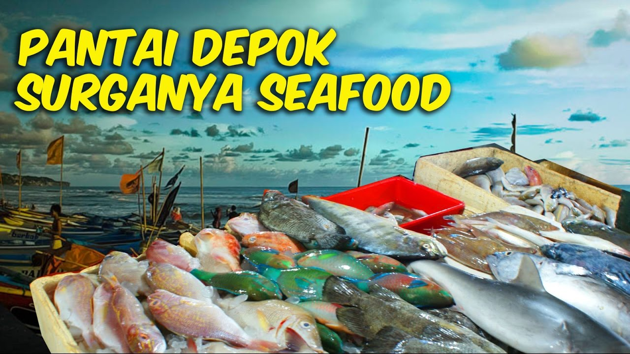 Pantai Depok Yogyakarta Surganya Pecinta Seafood Youtube