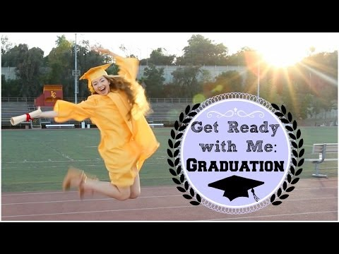 Getting Ready | Graduation Hair, Makeup, & Outfit!