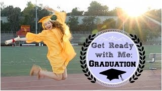 Getting Ready | Graduation Hair, Makeup, & Outfit! Thumbnail