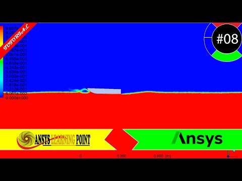 multiphase-flow|-ship-hull-analysis|-ansys-fluent