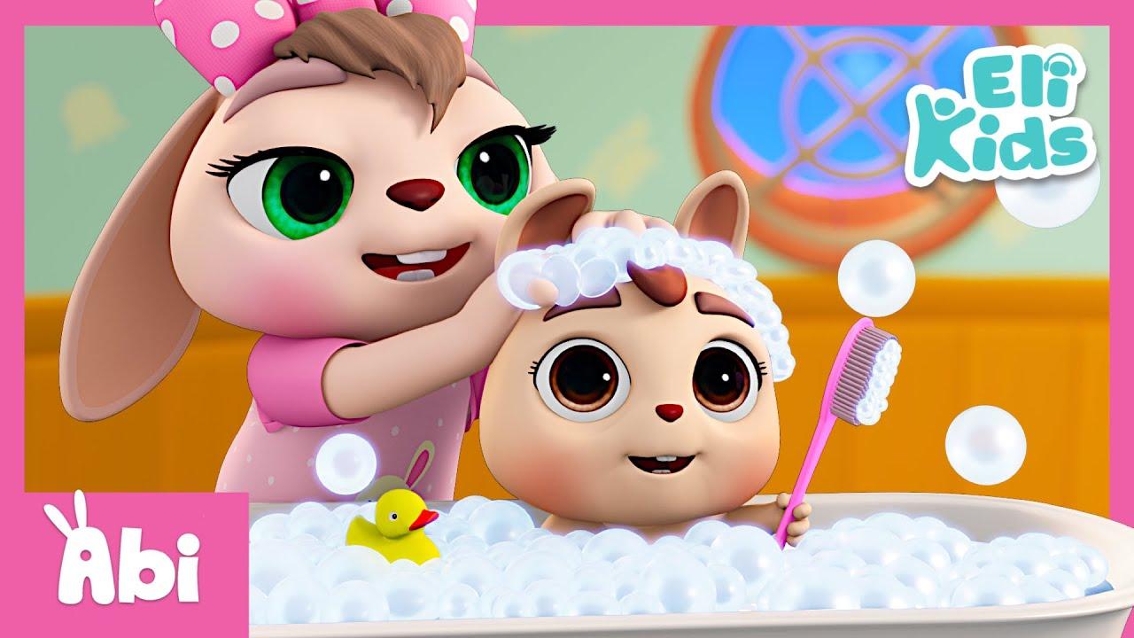 Bath Song +More | Eli Kids Educational Nursery Rhymes Compilation