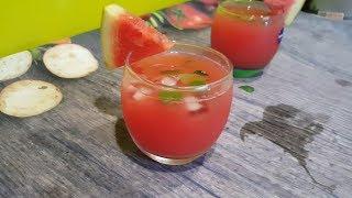 Bí kíp giảm cân, thanh lọc cơ thể - Cách làm detox dưa hấu (melon)