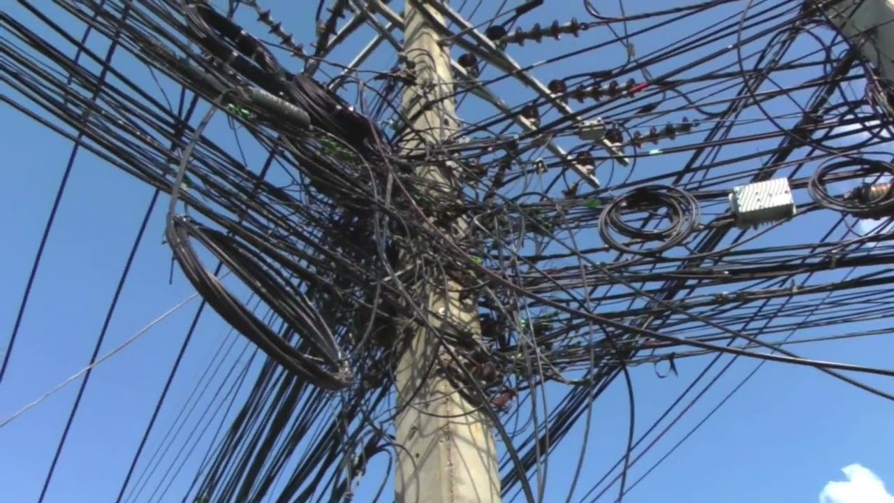 crazy wires are everywhere