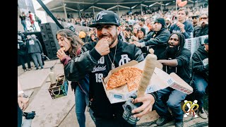 Collie Buddz gives out 1000 pizzas at  California Roots 2019