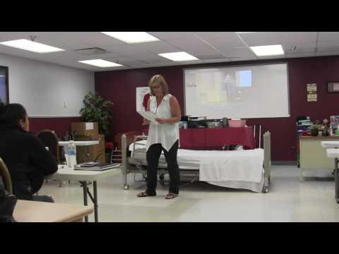 Allied Health Career Training. LLC - Susan, SNOW