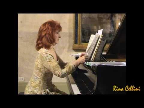 Clara Schumann - Tré Romances Op. 11 - Pianist: Rina Cellini