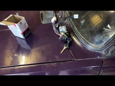 Установка замка зажигания от ваз 2110 в ваз 2107
