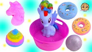 Download My Little Pony Rainbow Dash Takes Bath with Fizzy Surprise Toys Mp3 and Videos