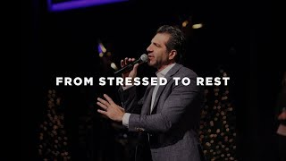 """""""I Will Give You Rest"""" - Jesus  (From Stressed to Rest)"""