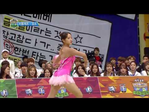 【TVPP】 Cheng XiaoWJSN – Rhythmic Gymnastics, 성소우주소녀 – 금메달 획득한 리듬체조!! @ISAC 2016