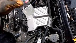 Раскоксовка Двигателя Керосином!!!