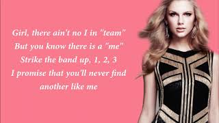 Taylor Swift – ME! Lyrics Video