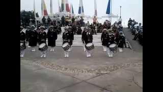 banda de guerra honor y lealtad veracruz 2014