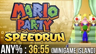Mario Party Mini-Game Island Any% Speedrun in 36:55
