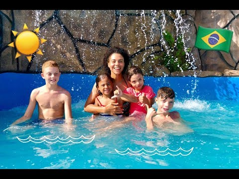Amazing Waterpark in Brazil