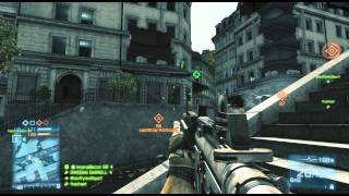 Battlefield 3 Multiplayer - Seine Crossing - Conquest - XBOX 360 - HD