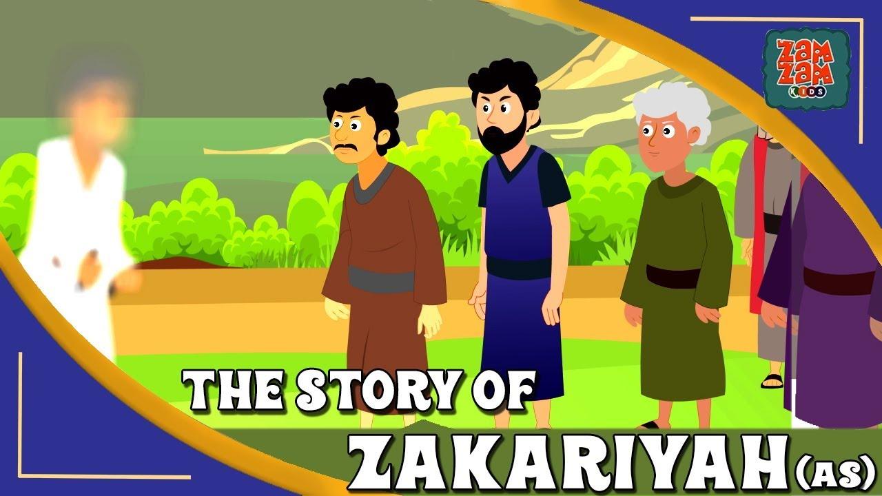 Download Quran Stories In English | Prophet Zakariyah (AS) | English Prophet Stories | Quran Cartoon