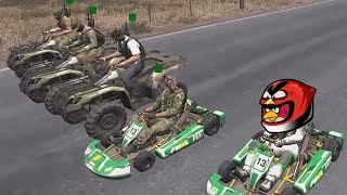 Death Race ! - ARMA 3 - King of the Hill