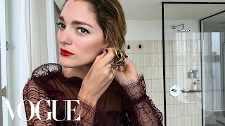 Easy Black-Tie Beauty With Sofía Sanchez de Betak | Vogue