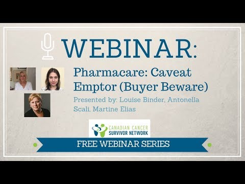 WEBINAR: Pharmacare - Caveat Emptor (Let the Buyer Beware)