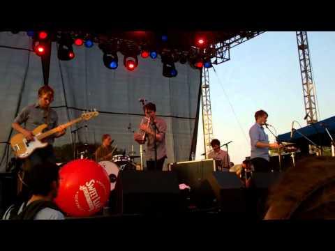 Beirut - 4. Vagabond (NEW SONG)- Free Press Fest Houston 6-4-11