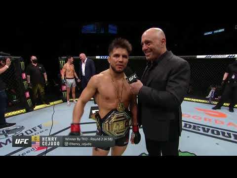 UFC 249: Генри Сехудо vs Доминик Круз - Слова после боя