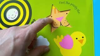 Раннее развитие детей | Обзор книги для развития тактильных навыков | Обучение английскому языку