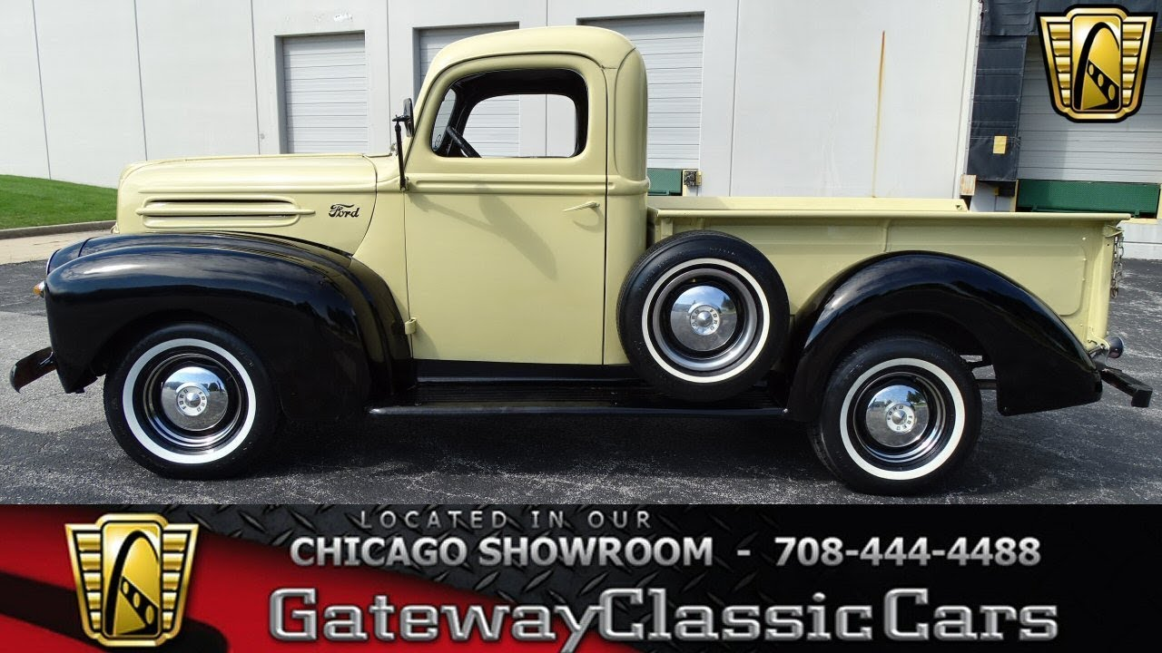 1947 Ford F-1 Gateway Classic Cars Chicago #1254 - YouTube
