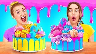ВКУСНЫЕ ЛАЙФХАКИ С ТОРТАМИ Сладкие рецепты и идеи десертов от 123 GO GOLD