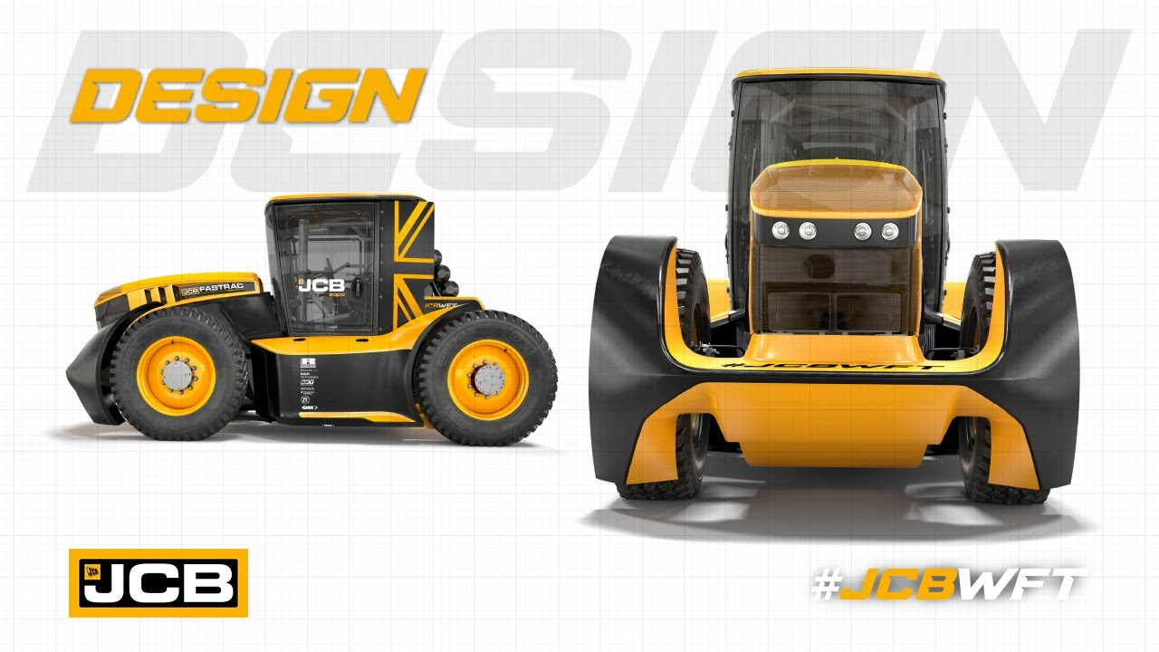 Design - JCB WFT Fastrac, the World's Fastest Tractor