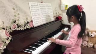 淇淇7Y4M練琴:田馥甄-看淡(電視劇 一把青 主題曲)鋼琴版