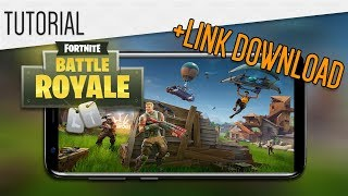 SAIUU FINALLY! FORTNITE MOBILE DOWNLOAD Link!