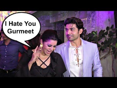 Gurmeet Choudhary And Debina Bonnerjee Fight At Rubina Dilaik And Abhinav Shukla Wedding Reception