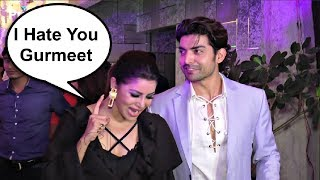 Gurmeet Choudhary And Debina Bonnerjee Fight At Rubina Dilaik And Abhinav Shukla Wedding Reception