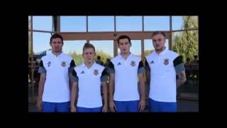 Гравці збірної України прибувають на збір