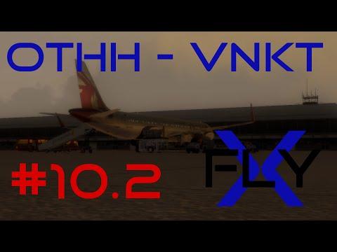 FlyX #10.2  Doha - Kathmandu (QTR A321) [FullHD]