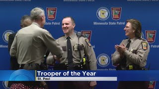 Minnesota State Patrol Honors Its Trooper Of The Year