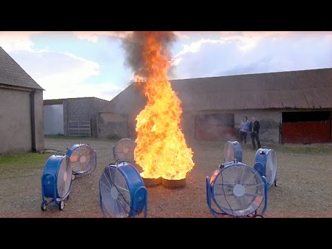 Creating A Fire Tornado | Factomania | Brit Lab