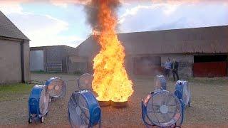 Creating A Fire Tornado | Factomania | Brit Lab