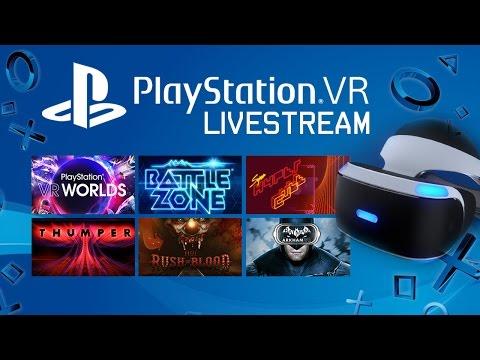 PlayStation VR Livestream