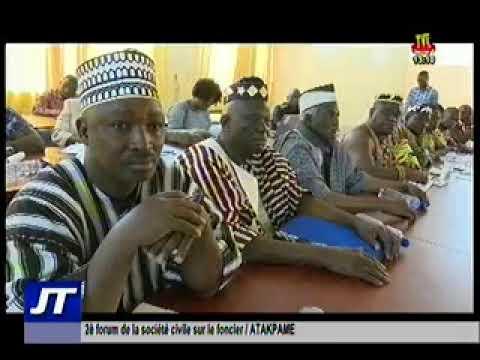 Deuxième édition du forum de la société civile sur le foncier au Togo /Télévision Togolaise
