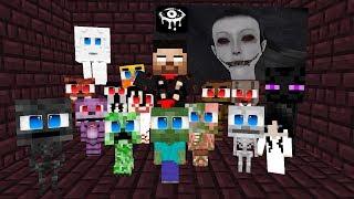 Monster School: Eyes The Horror Game Challenge Part 2 - Minecraft Animation 2019