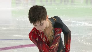Николай Угожаев Короткая программа Первенство России по фигурному катанию среди юниоров 2021