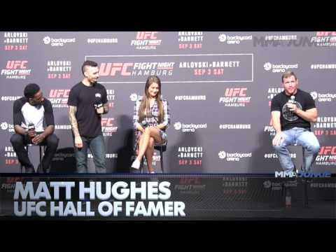 Matt Hughes says he would come out of retirement for title shot or a fight with Matt Serra
