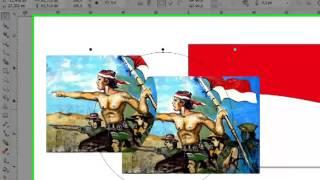 MP4 480p Membuat spanduk hari kemerdekaan dengan corel draw