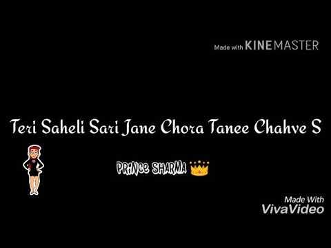 Main Khawab Su Tera Chori Re Tu Chahat Se Meri| Haryanvi Song | Whatsapp Status