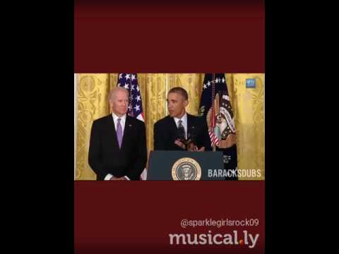 Obama singing can't stop this feeling